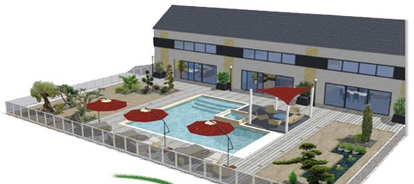 logiciel de dessin cad cao pour dessiner des plans de jardins espaces verts parcs en 2d et 3d. Black Bedroom Furniture Sets. Home Design Ideas